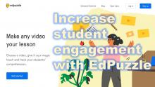 text: Increase Student Engagement with EdPuzzle